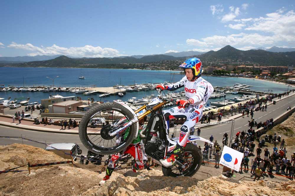 Campeonato del Mundo Trial, Córcega. 3ª prueba.