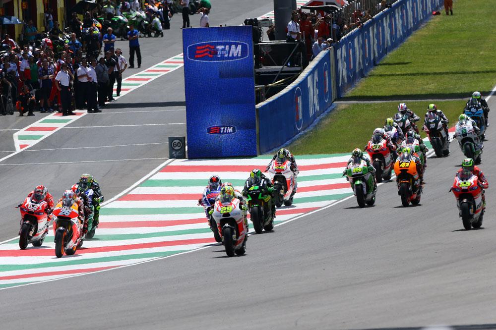 Horarios del Gran Premio de Italia de MotoGP en Mugello