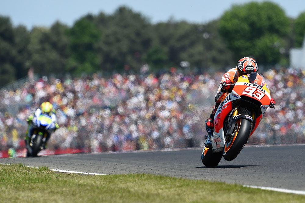 Marc Márquez, el más rápido en el FP1 de MotoGP