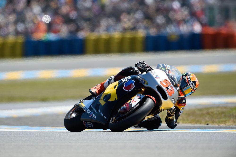 Tito Rabat controla los primeros libres de Moto2