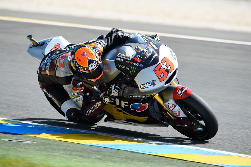 Tito Rabat comanda la clasificación combinada de Moto2