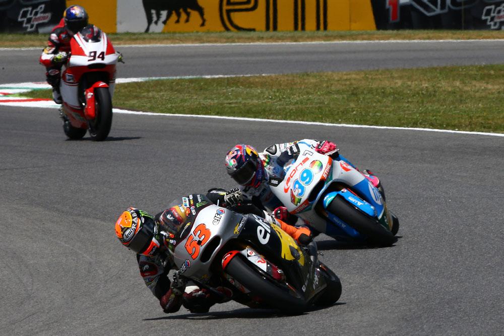 Tito Rabat y Romano Fenati se imponen en el GP de Italia
