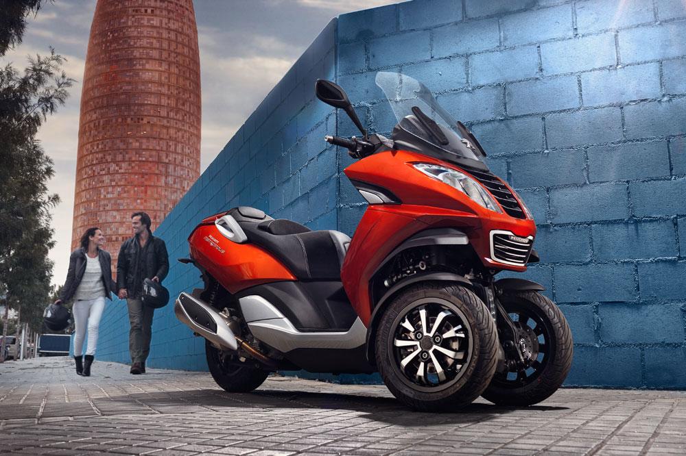 Peugeot Scooters te regala un iPad mini al comprar el Metropolis 400cc