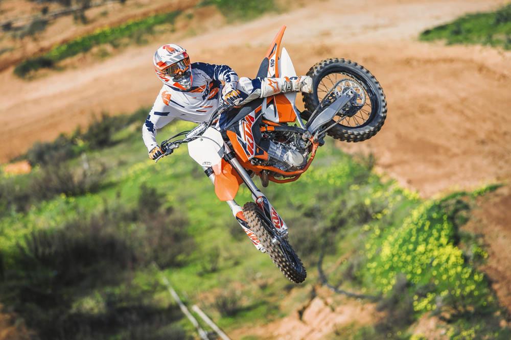 KTM presenta su gama motocross 2015