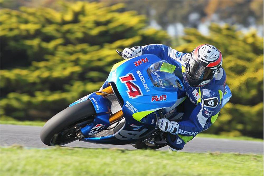 Suzuki completa un test de tres jornadas en Phillip Island