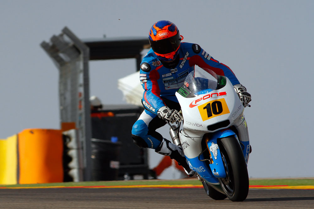 Jesko Raffin domina el CEV de Moto2