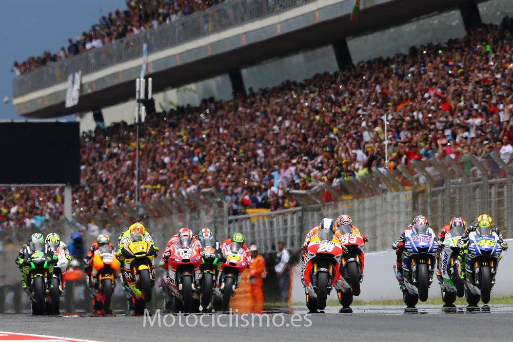 Horarios del Gran Premio de Cataluña de MotoGP