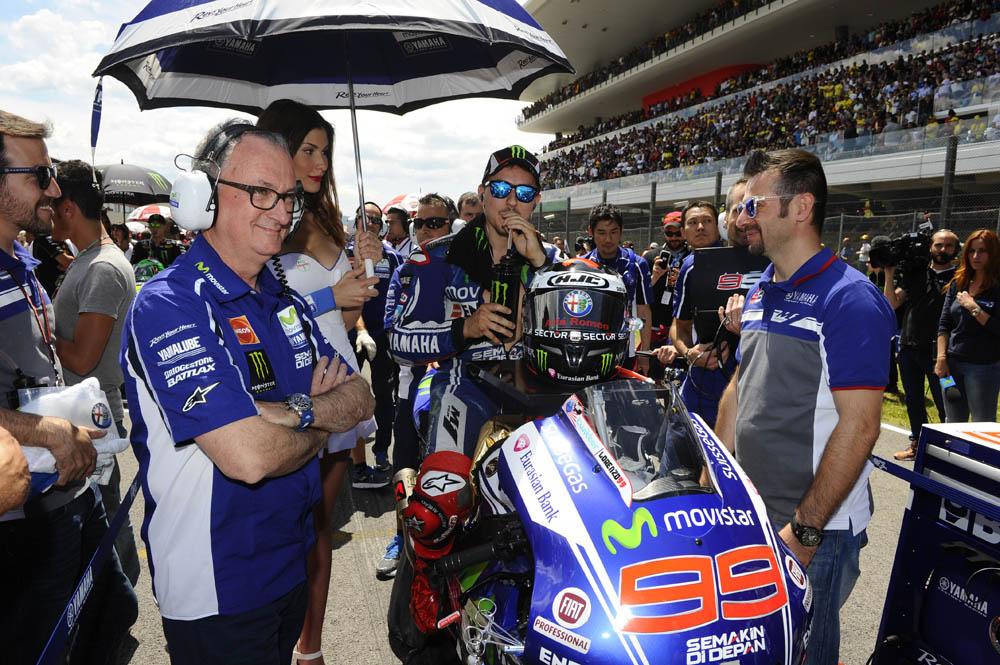 Los cambios en la Yamaha de Lorenzo