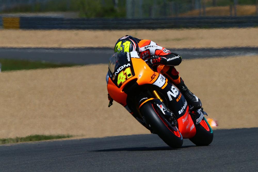 Aleix Espargaró lidera el FP1 de MotoGP