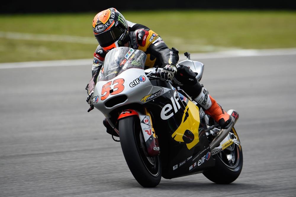 Tito Rabat domina la primera sesión de Moto2