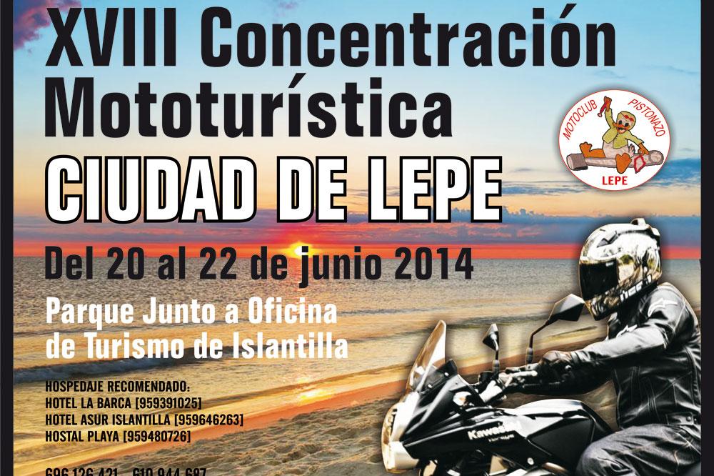 XVIII Concentración Mototurística Ciudad de Lepe