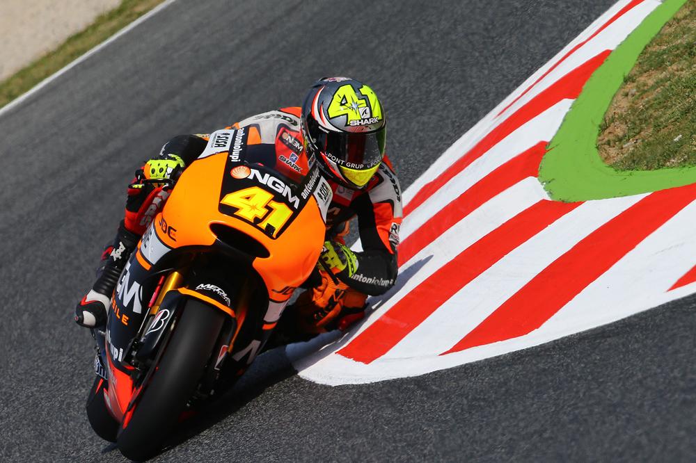 Aleix Espargaró, el más rápido de la jornada en MotoGP