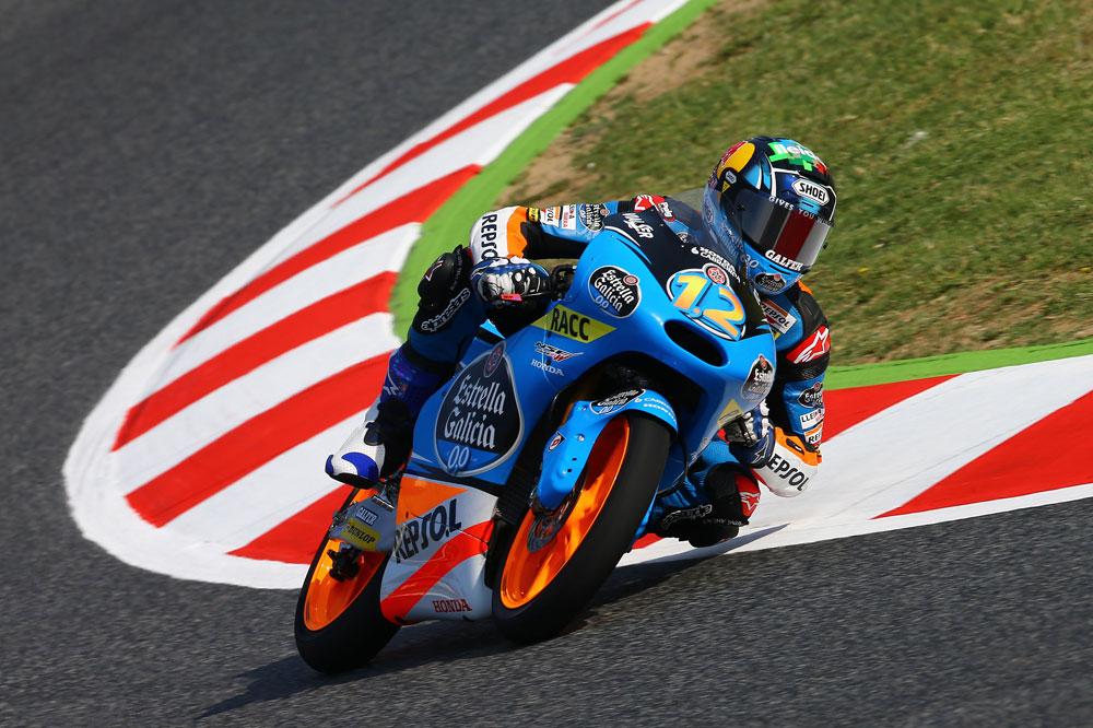 Alex Márquez brilla en los terceros libres