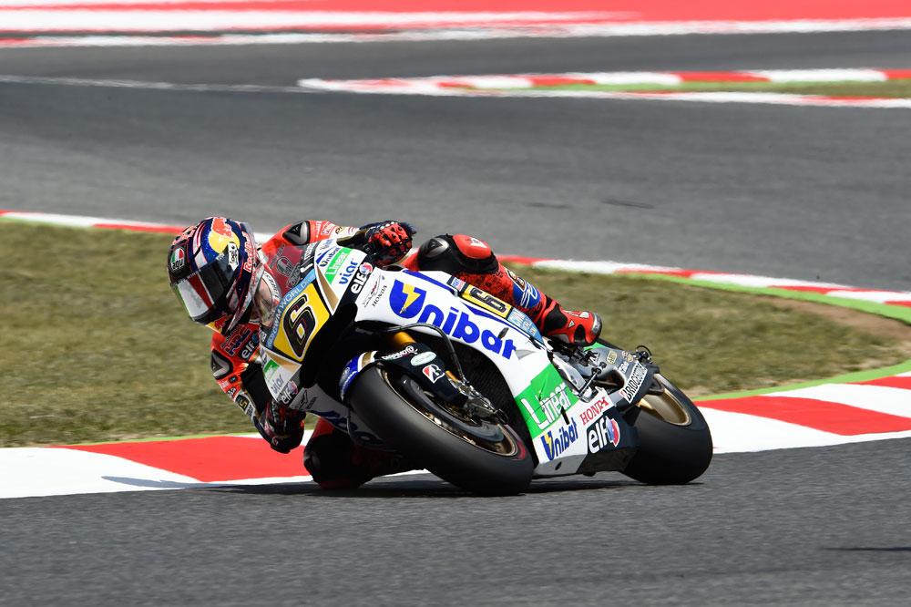 Stefan Bradl marca el ritmo en el FP3