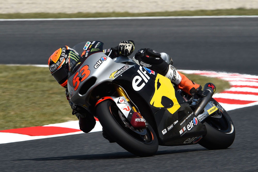 Tito Rabat continúa al frente en Moto2