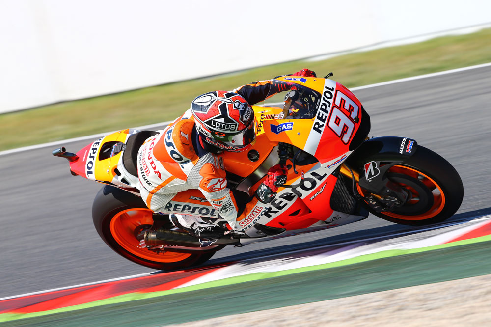 Marc Márquez:  He intentado hacer la curva a una velocidad imposible
