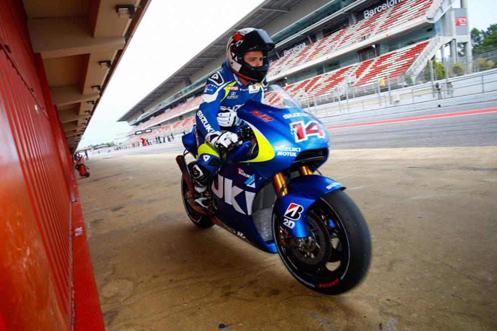 Suzuki y Ducati completan la segunda jornada de test en Barcelona
