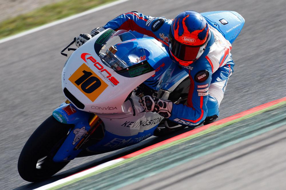 Raffin gana el sprint de Moto2