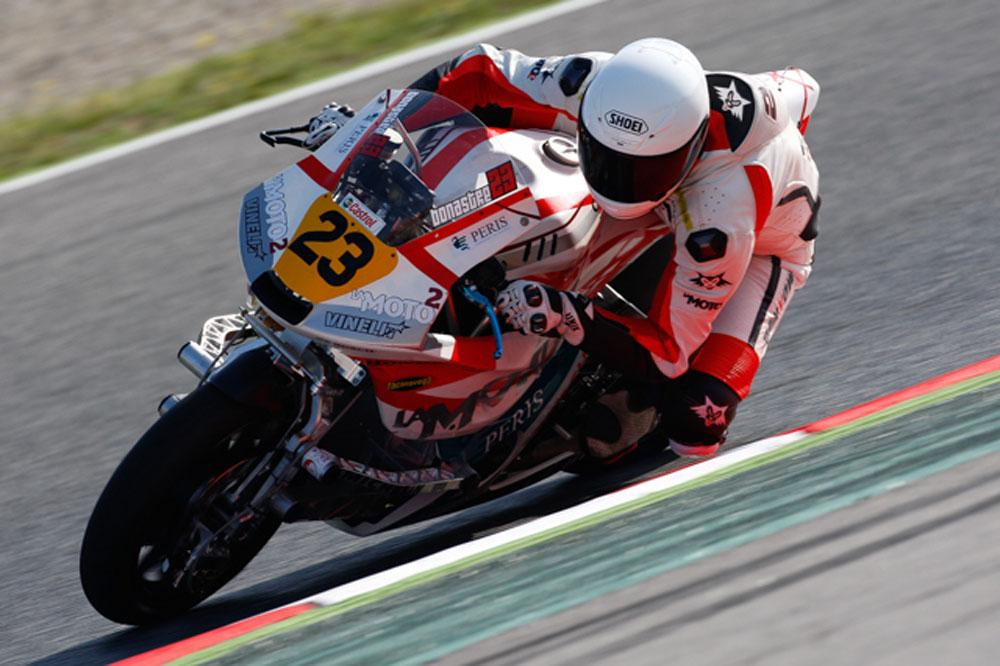 Agridulce CEV de Barcelona para La Moto2