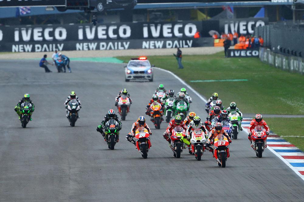 Horarios del Gran Premio de Holanda de MotoGP
