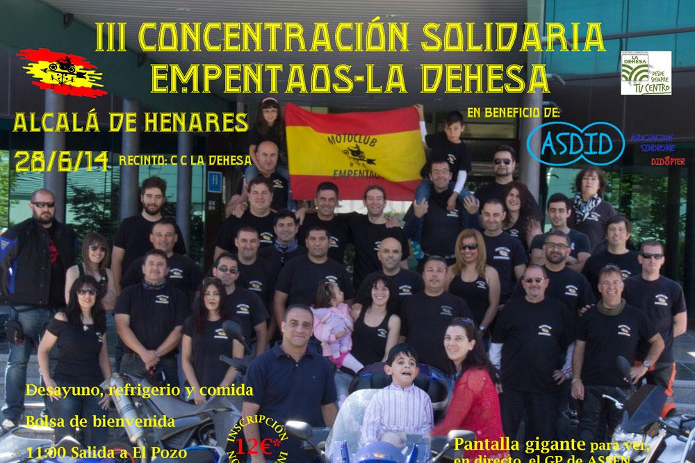 III Concentración Solidaria Empentaos