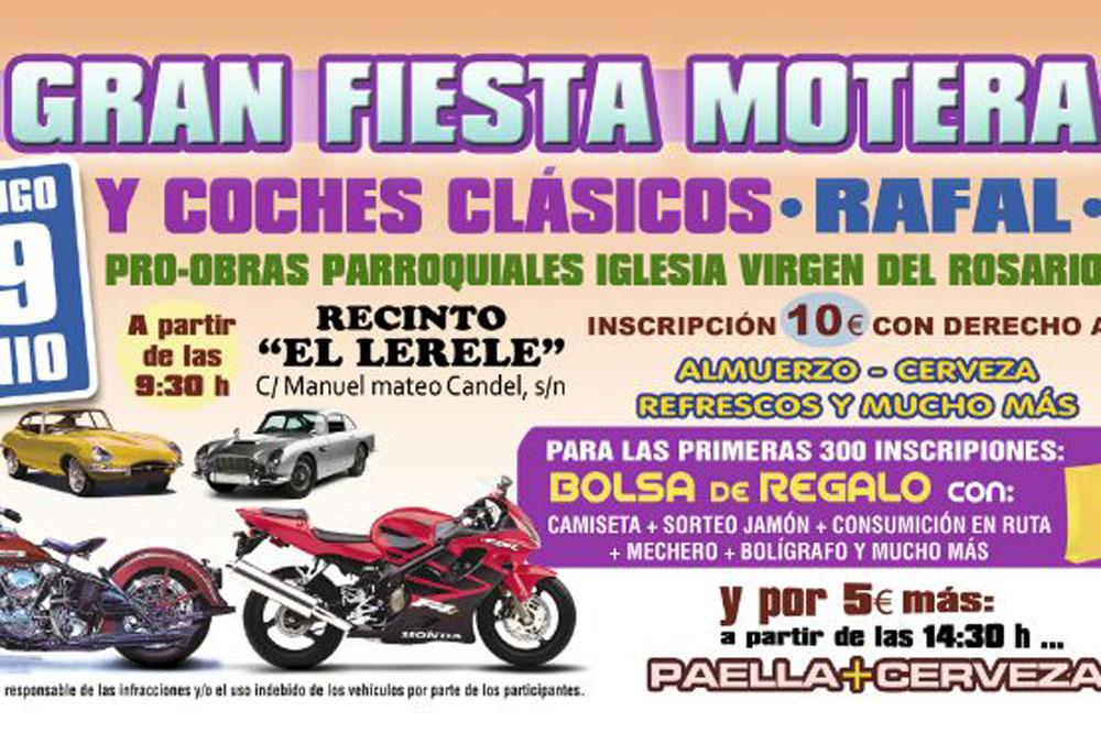 III Gran Fiesta Motera Rafal