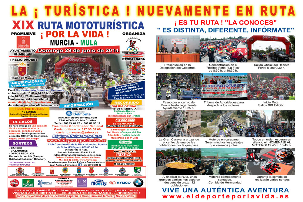 XIX Ruta Mototurística ¡Por la Vida!
