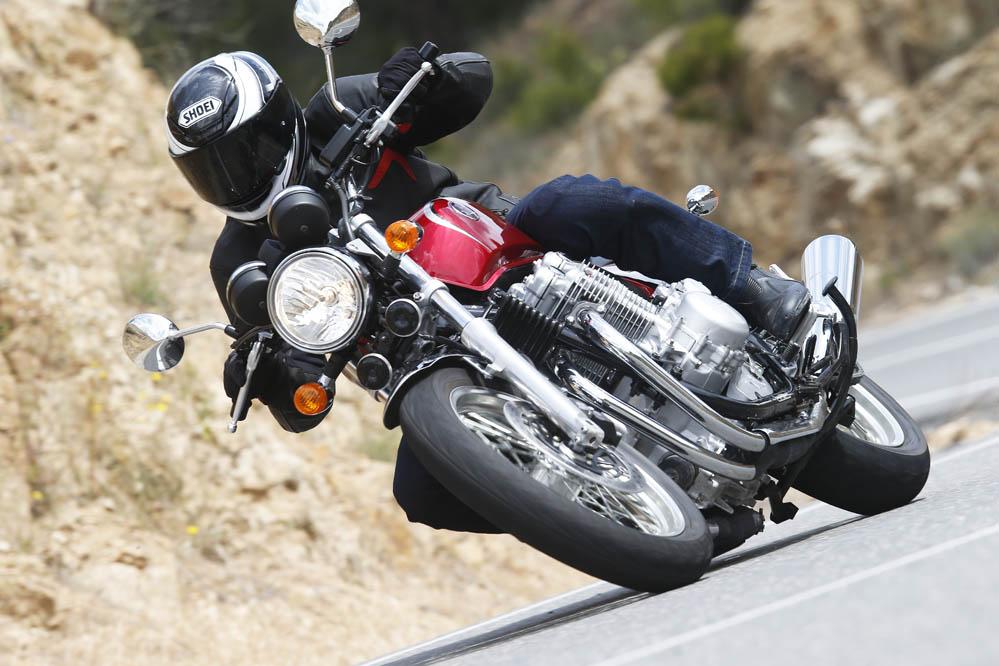 Honda CB1100EX. Prueba