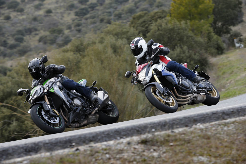 Comparativa Naked 1000: Honda CB1000 ABS vs Kawasaki Z1000 SE ABS