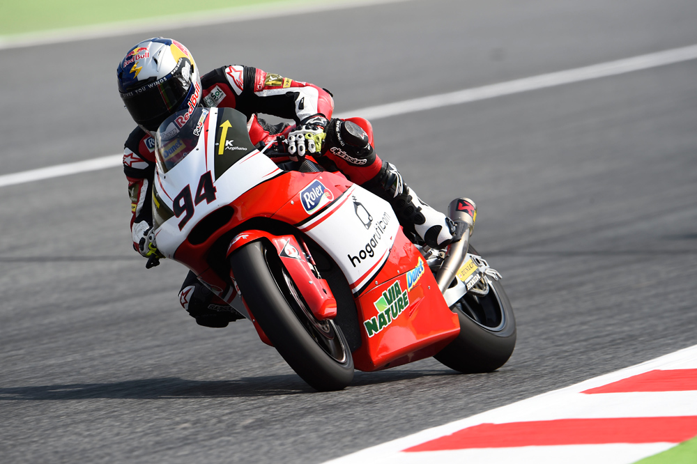 Jonas Folger lidera el FP1 de Moto2