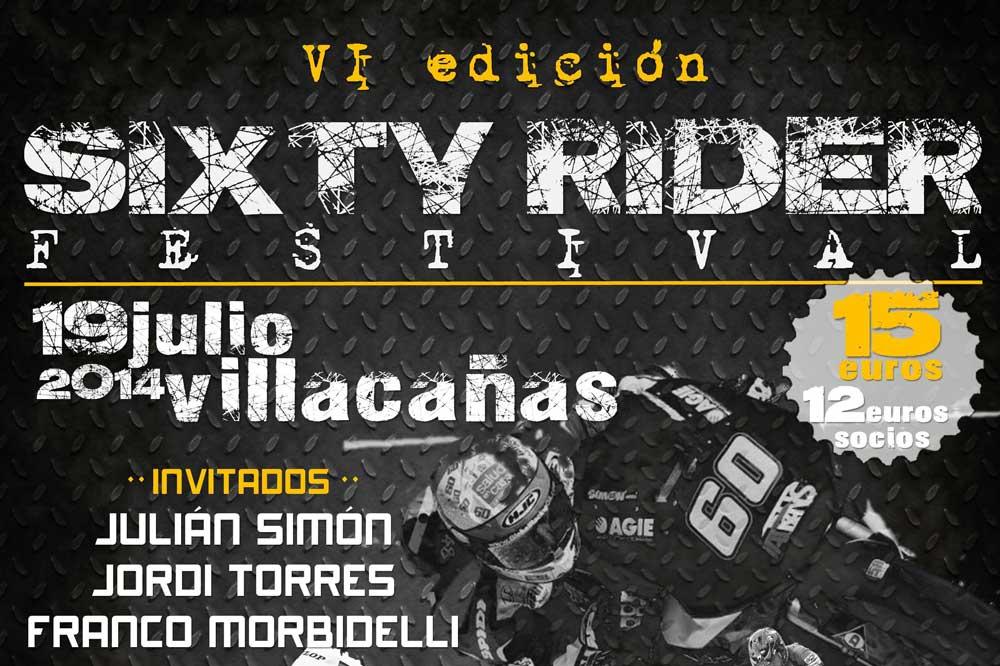 Consigue tu pase VIP para el Festival Sixty Rider