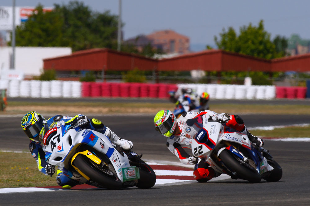 Albacete corona a Rodri y Silva en Superbike