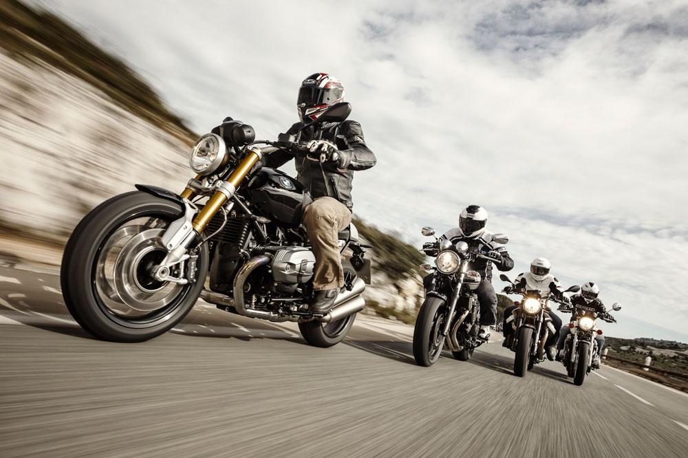 Comparativa retro: BMW, Honda, Moto Guzzi y Yamaha
