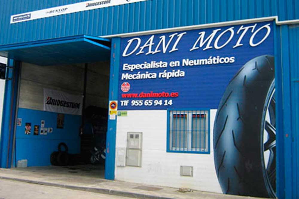 Con Dani Moto paga 10 euros menos por tus neumáticos