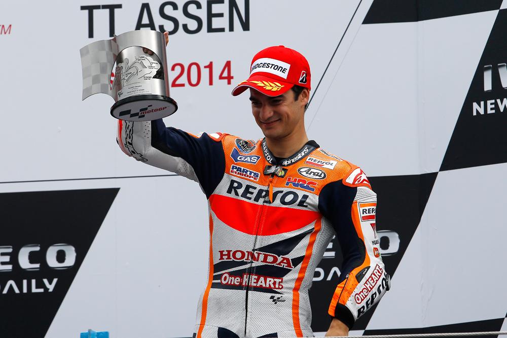 Dani Pedrosa renueva con Honda hasta 2016