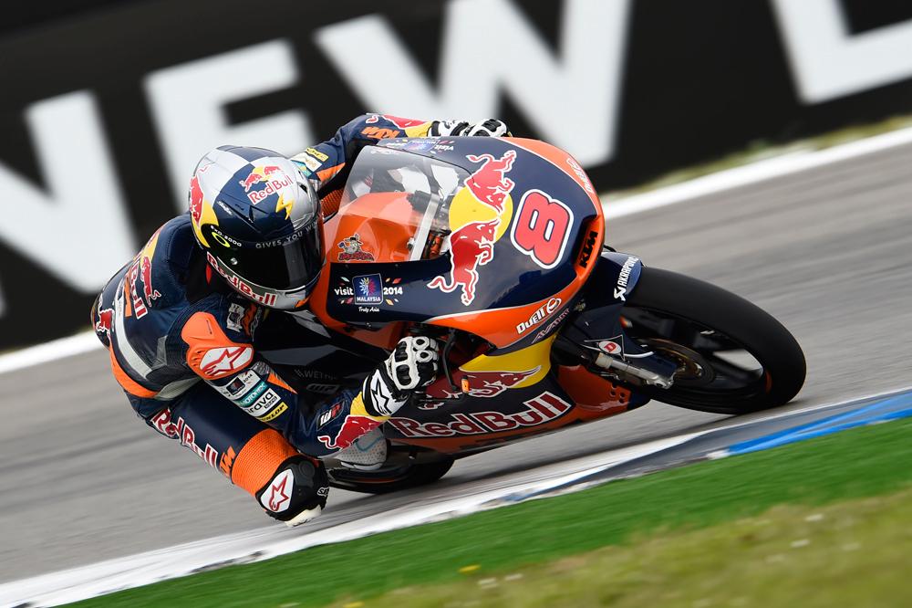 Jack Miller marca el ritmo en los primeros libres de Moto3