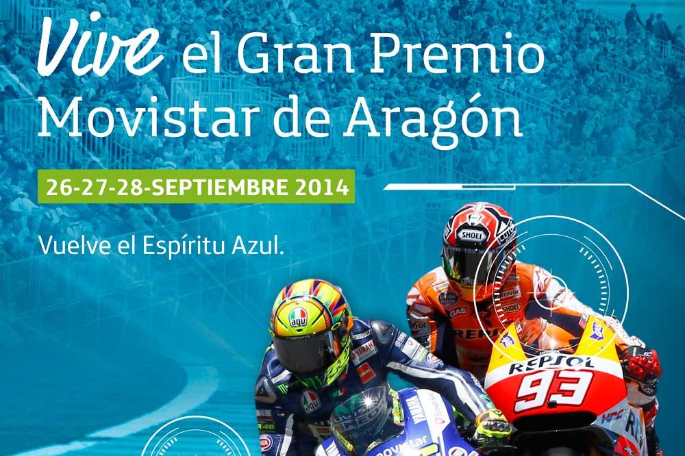 Compra tu pack de entradas para el GP de Aragón y ahorra hasta 55 euros