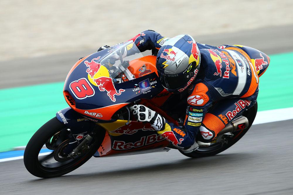 Jack Miller brilla en los terceros libres de Moto3