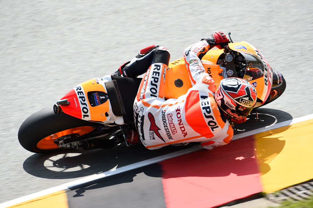 Marc Márquez controla el FP3 de MotoGP