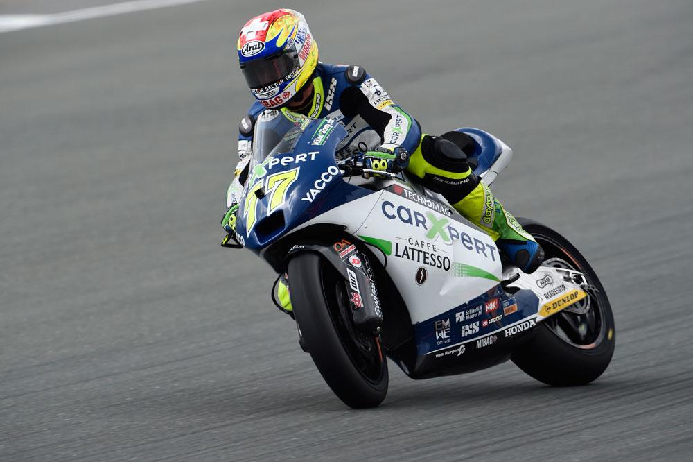 Aegerter se estrena en Moto2 y Miller logra un nuevo triunfo en Moto3
