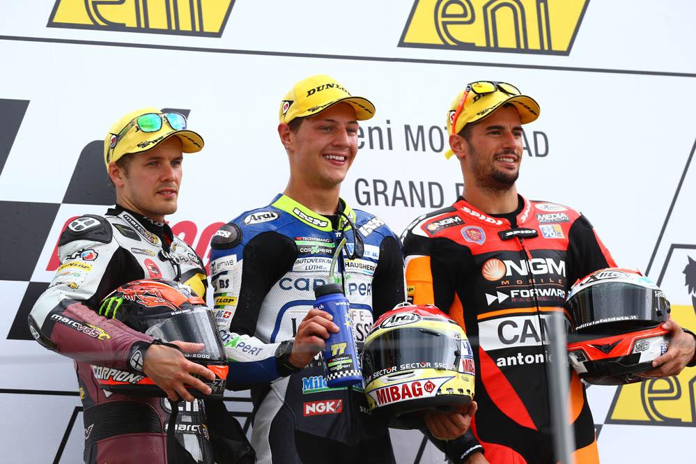 Declaraciones de los pilotos de Moto2 y Moto3, tras el GP de Alemania