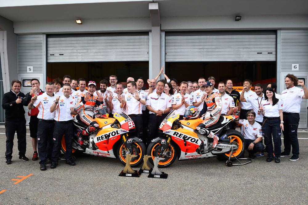 Repsol y Honda, juntos en MotoGP hasta 2017