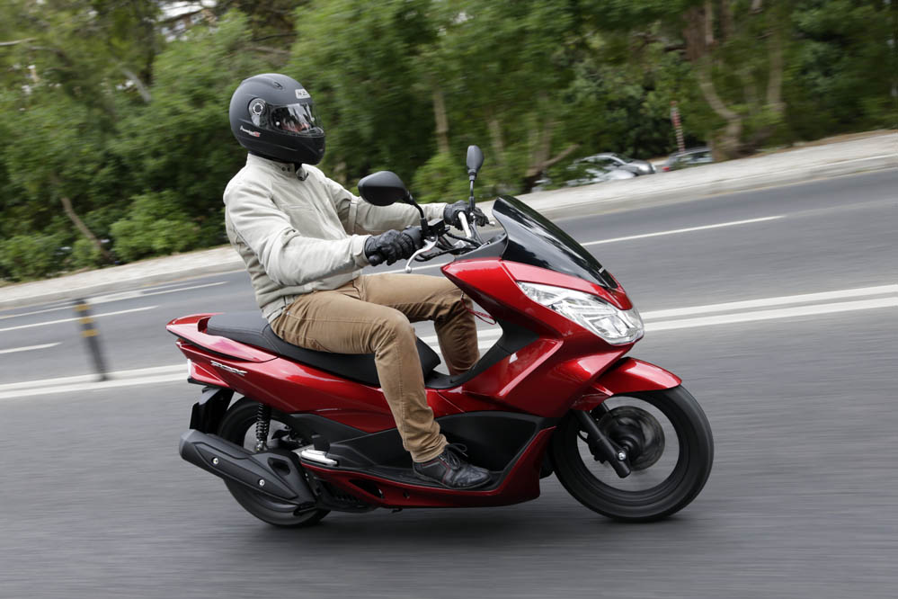 Honda PCX 125. Prueba