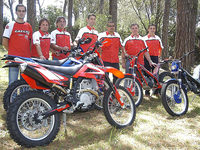 Anticipación: Gama Gas Gas 2008