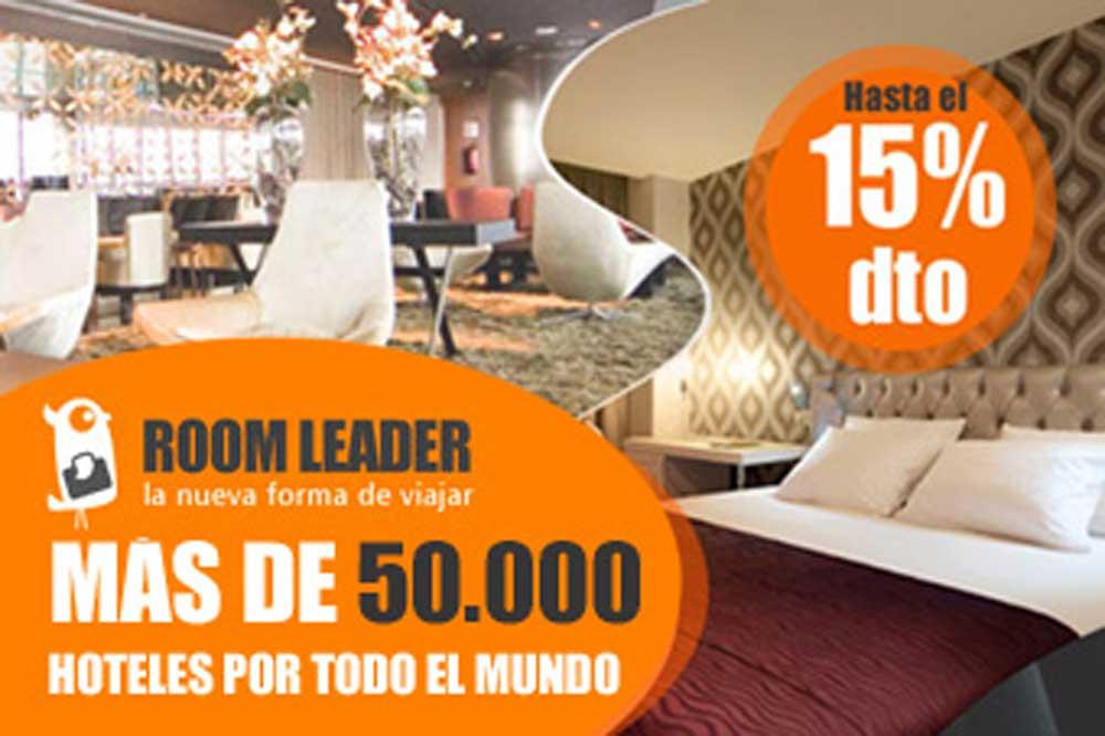 Reserva hotel con un 15% de descuento
