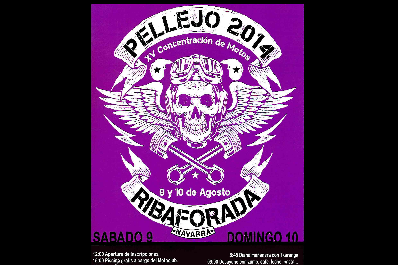 XV Concentración de motos Pellejo 2014