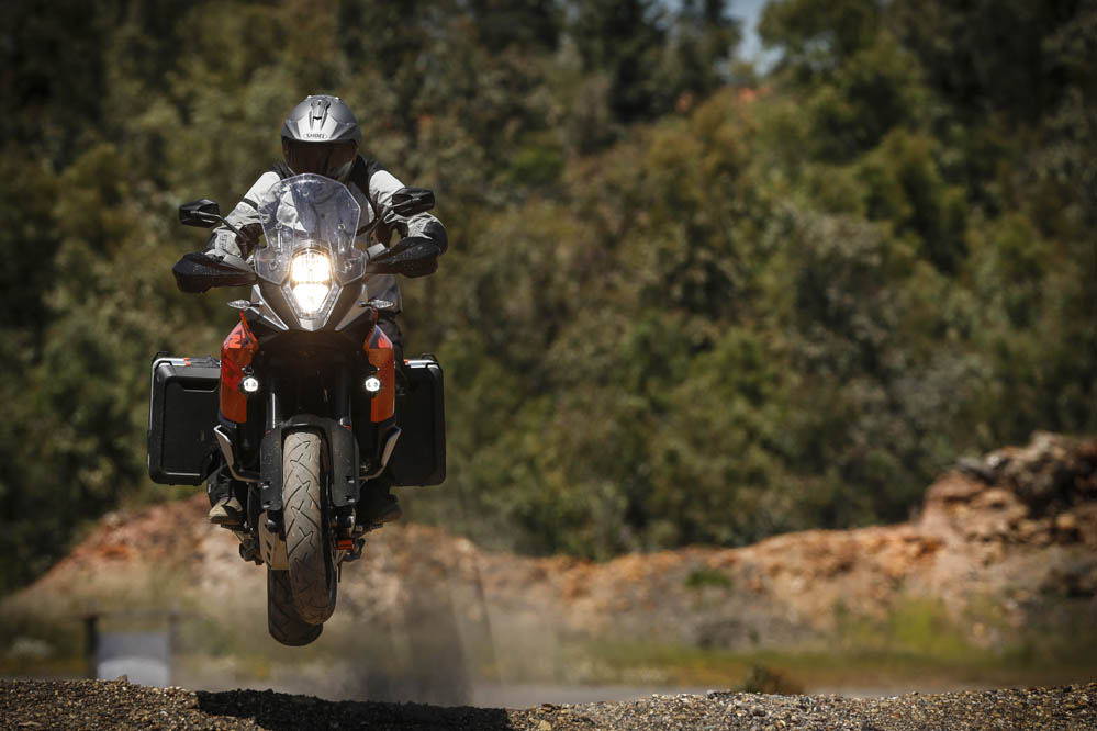 KTM 1190 Adventure Power Parts. Prueba