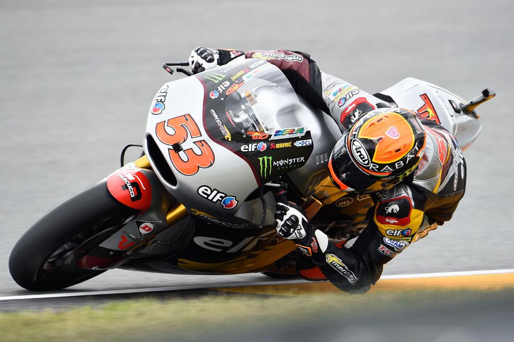 Tito Rabat lidera la sesión inaugural de Moto2