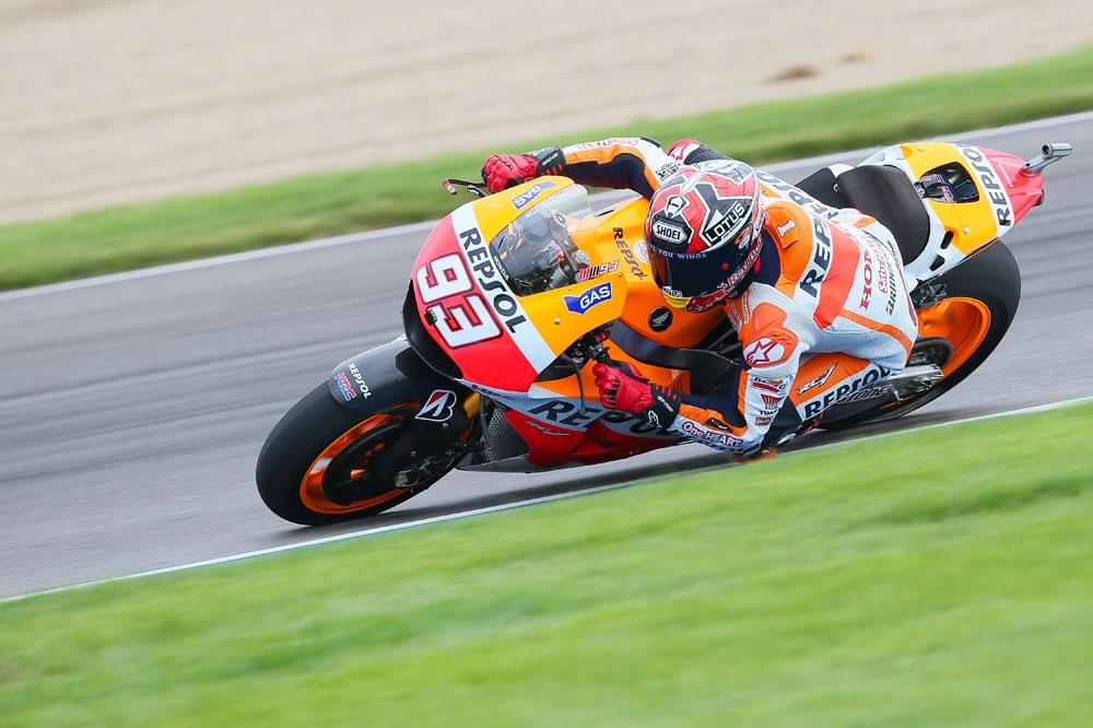 Márquez vuela en Indy y se anota una nueva pole
