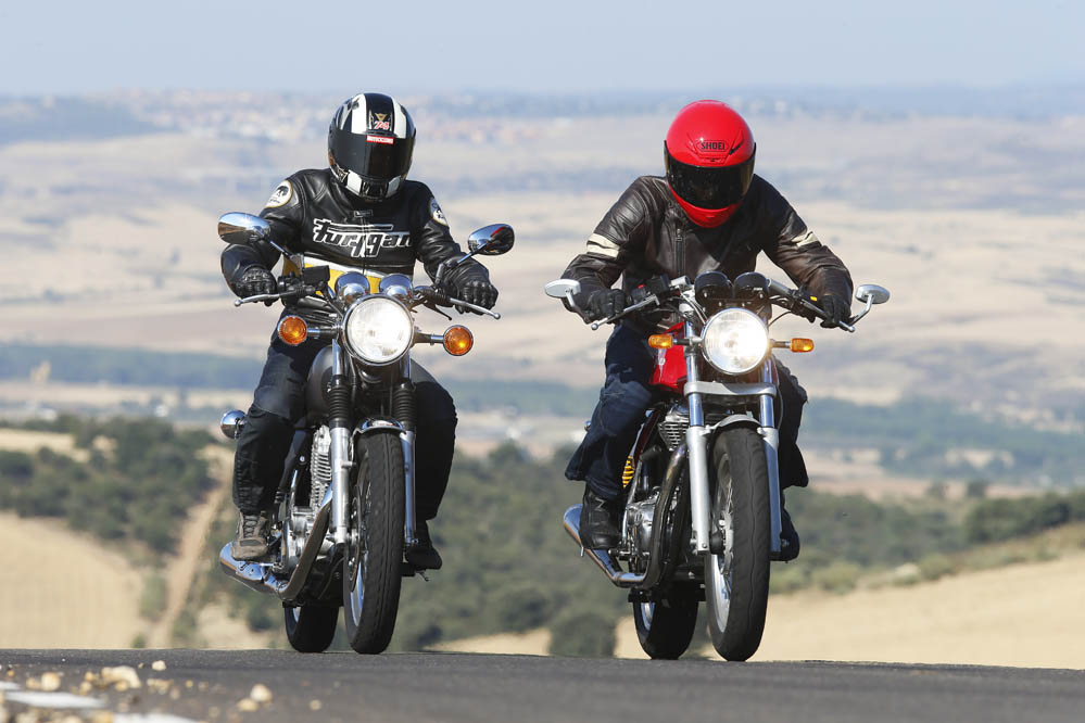 Comparativa: Royal Enfield Continental GT vs Yamaha SR400